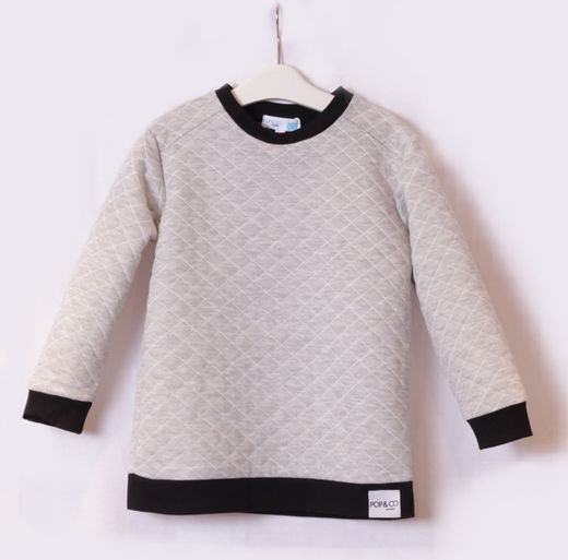 Pop&Co sweater harmaa